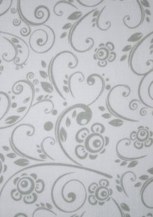 King Fisher Fabrics - Get Back SSF48497GRAY-WHT