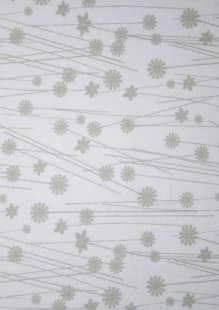 King Fisher Fabrics - Get Back SSF48499GRAY-WHT