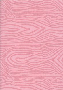 Extra Wide Wood Grain by John Louden - Pink
