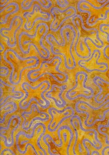 Fabric Freedom Bali Batik - Yellow15-112D