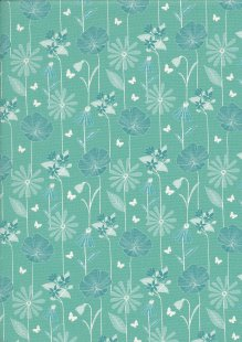 Fabric Freedom Butterfly Garden - FF399 Col 2