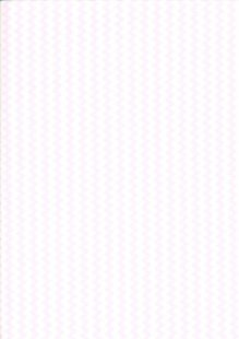 Fabric Freedom Basics - Zig Zag Pale Pink FF32 COL 2