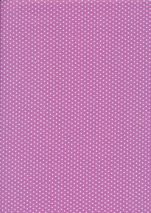 Fabric Freedom Basics - Spot Purple FF35 COL 4