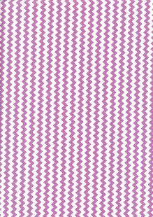 Fabric Freedom Basics - Zig Zag Purple FF32 COL 4