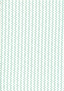 Fabric Freedom Basics - Zig Zag Light Green FF32 COL 3