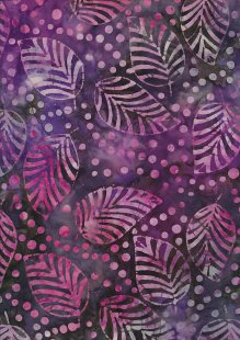 Fabric Freedom Bali Batik Stamp - Batik Stamp  - Purple 137/C
