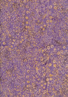 Fabric Freedom Bali Batik Stamp - Batik Stamp  - Purple 146/D
