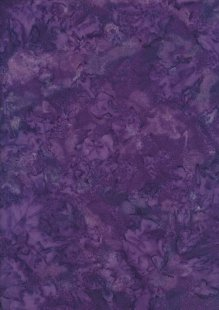 Fabric Freedom Bali Batik Stamp - Batik Tie Die  - Purple 132/6