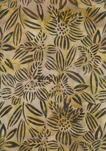 Fabric Freedom Bali Batik Stamp - Batik Stamp  - Brown 144/C