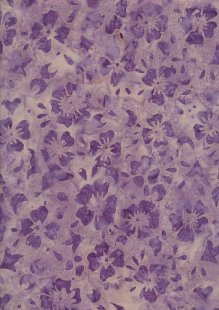 Fabric Freedom Bali Batik Stamp - BK 420/C Purple