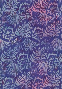 Fabric Freedom Bali Batik Stamp - BK 403/J Purple