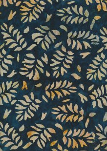 Fabric Freedom Bali Batik Stamp - BK 423/E Blue