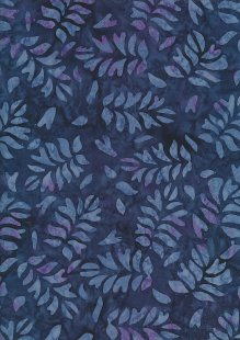Fabric Freedom Bali Batik Stamp - BK 423/F Blue