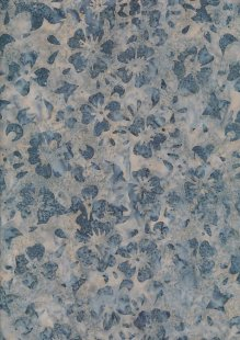 Fabric Freedom Bali Batik Stamp - BK 420/B Blue