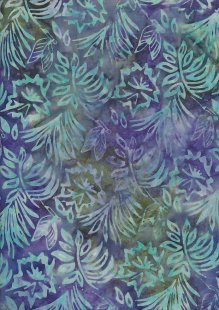 Fabric Freedom Bali Batik Stamp - BK 403/E Purple