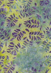 Fabric Freedom Bali Batik Stamp - BK 423/C Green