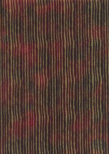 Fabric Freedom Traditional Gilded Christmas - Lines FF513-3 Burgundy