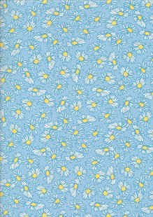 Fabric Freedom In Bloom - FF12-4 Light Blue