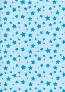 "Perfect Occasions 54"" Wide - Star Pale Blue PPL-01COL 10"