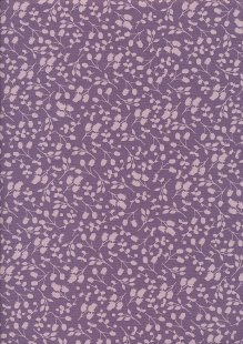 Fabric Freedom Floral Shadow - Lilac Sprig FF10-12