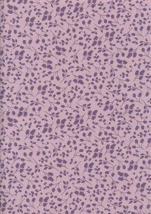 Fabric Freedom Floral Shadow - Purple Sprig FF10-11