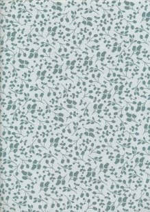 Fabric Freedom Floral Shadow - Green Sprig FF10-3