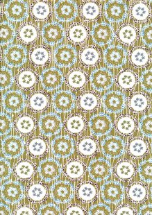 Fabric Freedom - Daisy Chains FF287 Col 2