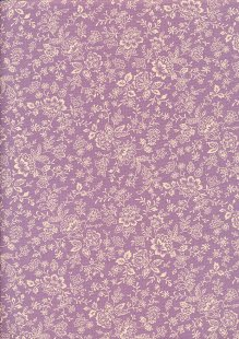 Fabric Freedom - Floral Silhouette FF25 Col 4
