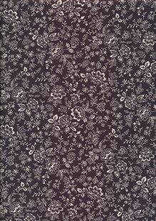 Fabric Freedom - Floral Silhouette FF25 Col 18