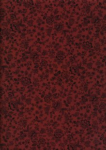 Fabric Freedom - Floral Silhouette FF25 Col 19