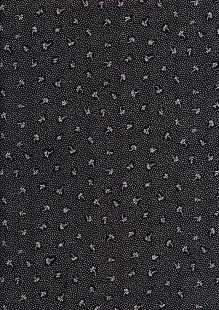 Fabric Freedom - Flowers Scattered Petals FF2587 Black