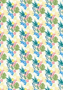 Fabric Freedom - Tropica FF280 Col 1