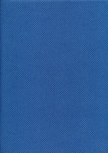 Fabric Freedom - Pinspot Blue on Buttermilk CTS 061