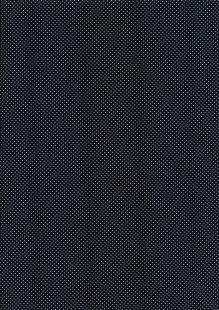 Fabric Freedom - Pinspot White on Black CTS 062