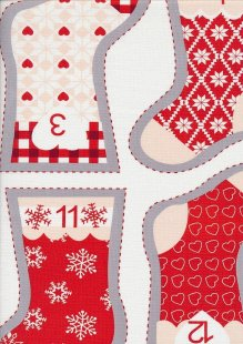 Fabric Freedom - Nordic Chrismas FF186-1 Panel