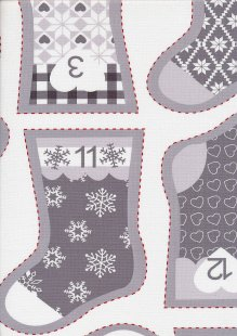 Fabric Freedom - Nordic Chrismas FF186-3 Panel