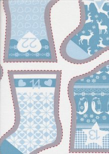 Fabric Freedom - Nordic Chrismas FF186-2 Panel