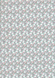 Fabric Freedom - Retro Christmas FF364 Col 2