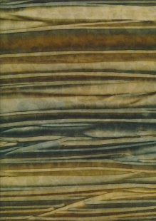 Fabric Freedom Strip Dye Bali Batik - BK 422/F Brown