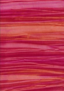 Fabric Freedom Strip Dye Bali Batik - BK 422/C Pink