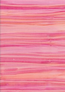 Fabric Freedom Strip Dye Bali Batik - BK 422/G Pink