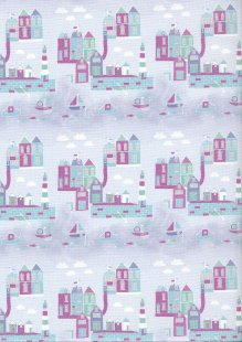 Fabric Freedom - Seaside FF357 Col 3