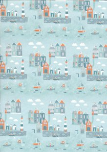 Fabric Freedom - Seaside FF357 Col 1
