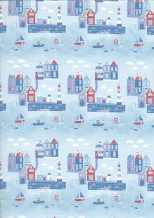 Fabric Freedom - Seaside FF357 Col 2