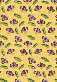 Fabric Freedom - Wild Flowers FF343 Col 1