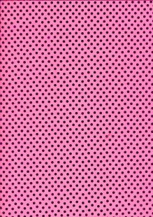 Sequin Poly Jersey - Small Hot Pink
