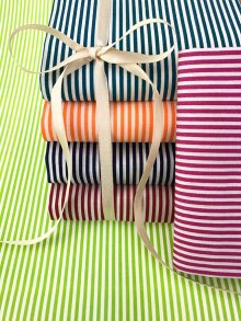 Craft Cotton Co Bright Stripes Fat 1/4 Pack - 6 pieces