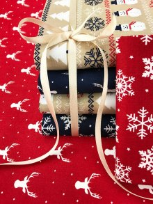 Craft Cotton Co Heritage Christmas Fat 1/4 Pack - 6 pieces