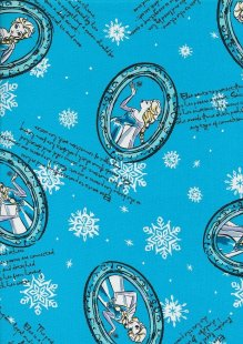 Disney's Frozen - Elsa Mirror On Blue