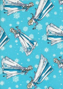 Disney's Frozen - Elsa Sketch On Blue